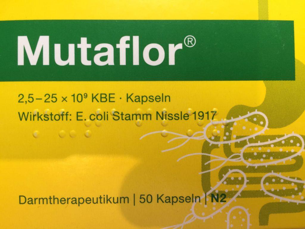 Mutaflor - Aufbau Darmflora
